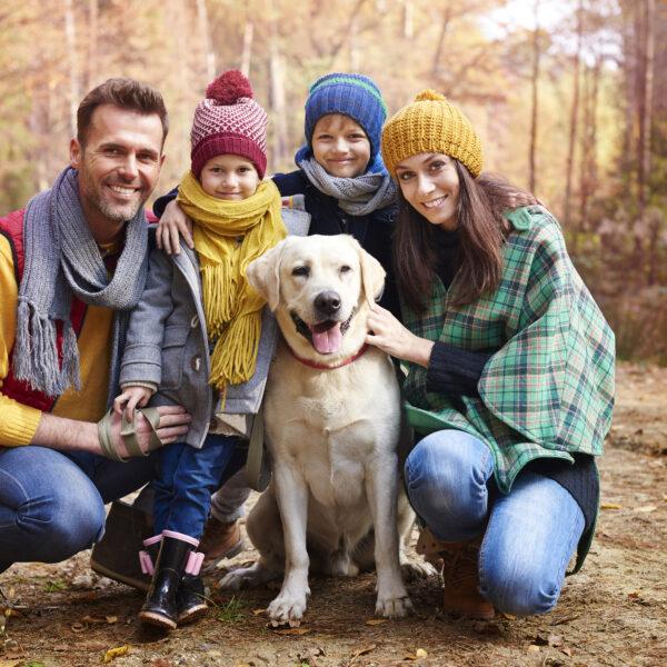 white-family-posing