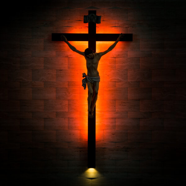 crucifix-of-the-catholic-christian-in-silhouette