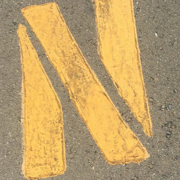 yellow-letter-n-print